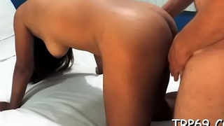 Thai chick with a breathtaking body gets her cunt nailed coarse