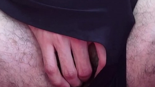 Handsome twink has come to cum via masturbation solo