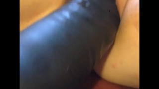 inflatable dildo in pussy