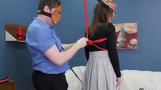 Kinky girl is taken in asshole assylum for uninhibited treatment