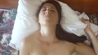 My Ex girlfriend using a vibraton for the prankish time on video