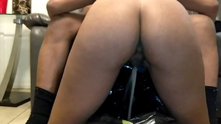 Felonious Slut Innovative Peeing on Knees