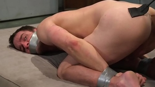Submissive pauper flogged and whipped