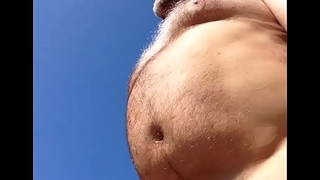 obese belly, small dick