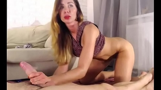 Riding Cock And Masturbation
