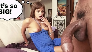 BANGBROS - Russian Babe Nika Noir Loves Castro Supreme'_s Big Black Cock