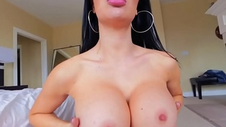 Busty british slut blows