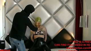 AspirinaC Latex Hood And Strangle Breathplay