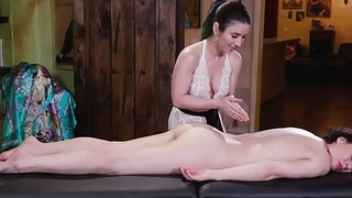Breast-feed massage each other pussy