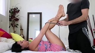 Dazzling Stepsis Zoey Foxx Tied Yon &amp_ Fucked By Pervert Brother