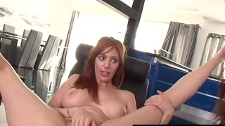 Hot Tattooed Lauren Phillips &amp_ Kendra Cole Lick Their Muffs!