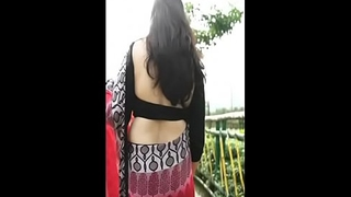 hottie bhabhi in black blouse